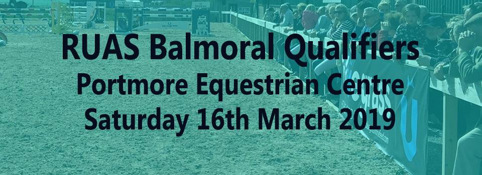 RUAS-Balmoral-Qualifiers